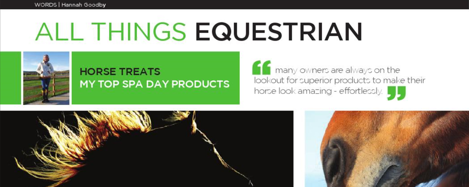 HG Equestrian - Gallery IoM Magazine Article Banner April 2015