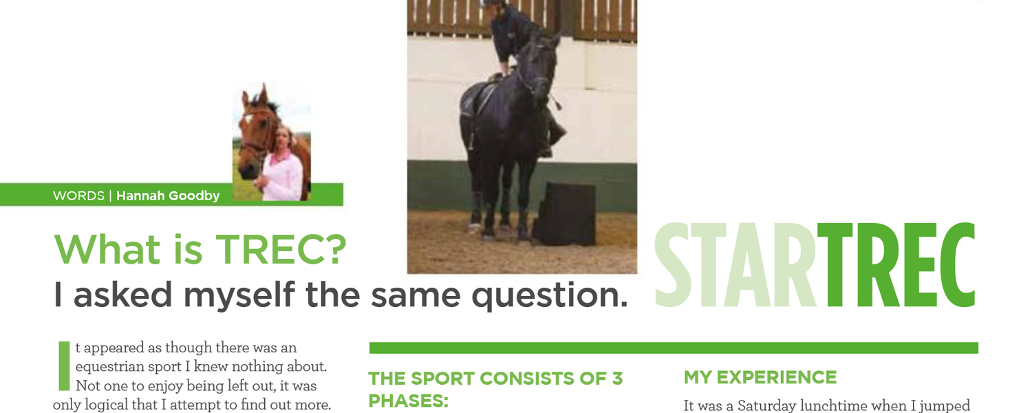 HG Equestrian - Gallery IoM Magazine Article Banner December 2014