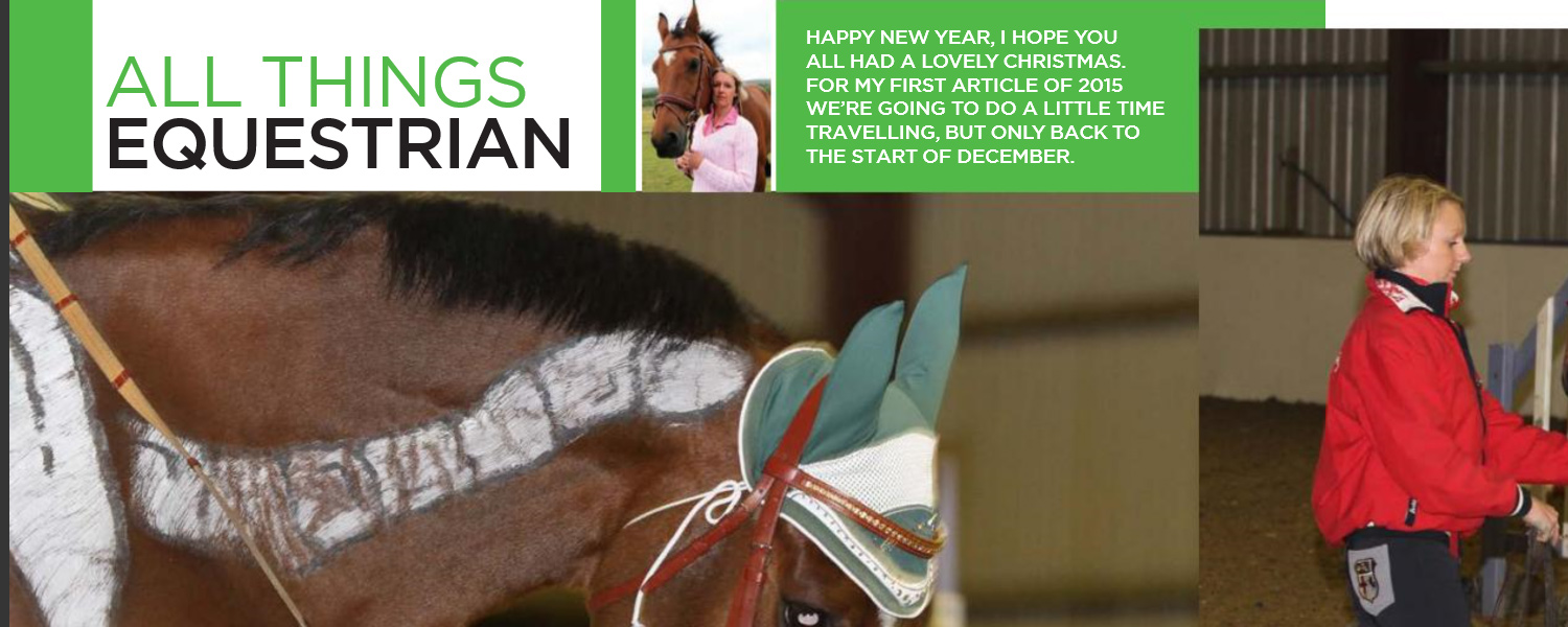 HG Equestrian - Gallery IoM Magazine Article Banner February 2015