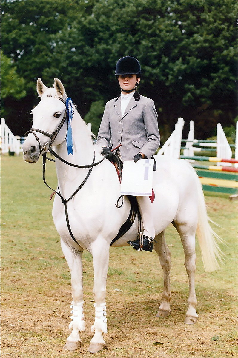 Lucky Strider and Hannah Goodby Qualifying for HOYS 1996