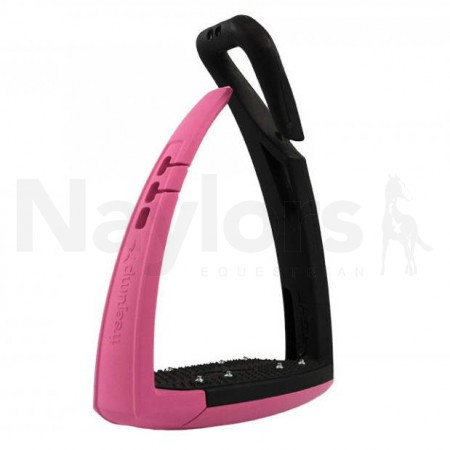 Freejump Soft'Up Pro Safety Stirrups Pink Image
