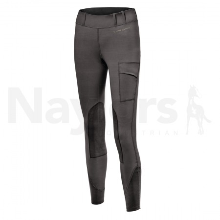 Ladies Noble Balance Riding Tights Asphalt Image