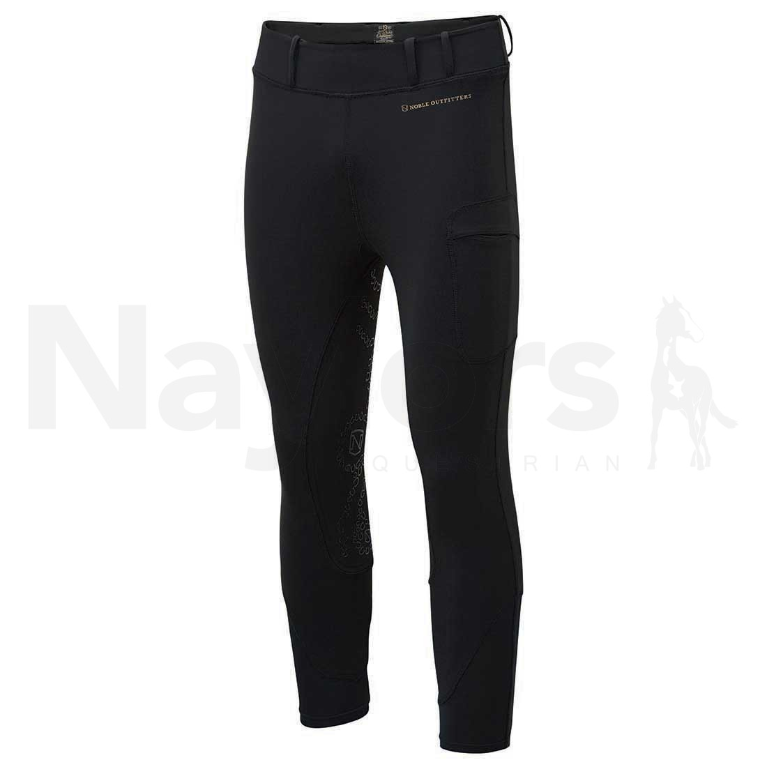 Ladies Noble Balance Riding Tights Black Image