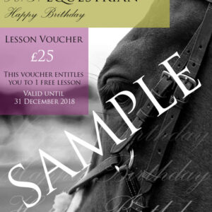 HG Equestrian Birthday Voucher