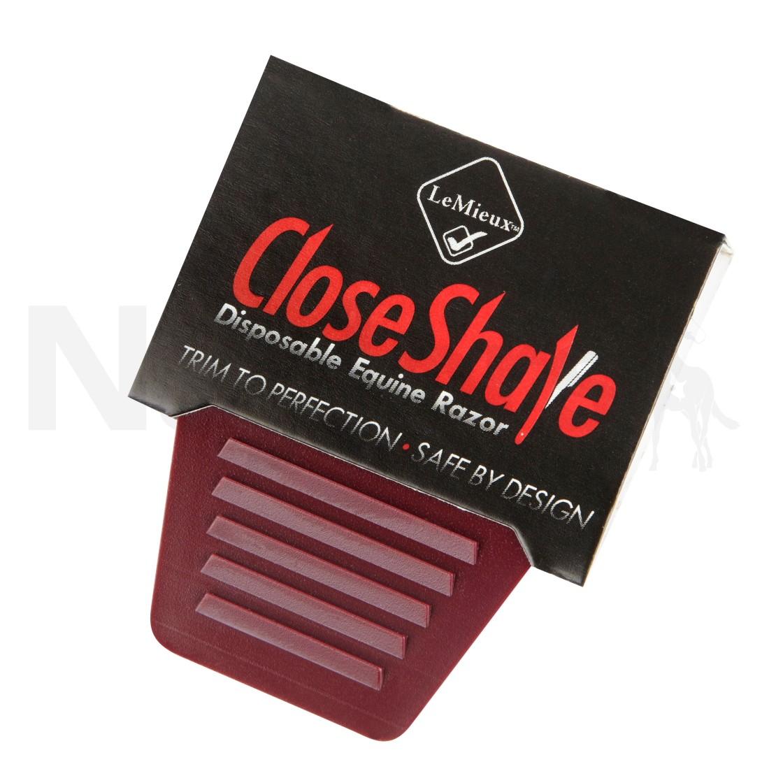 LeMieux Close Shave Disposable Equine Razor Image
