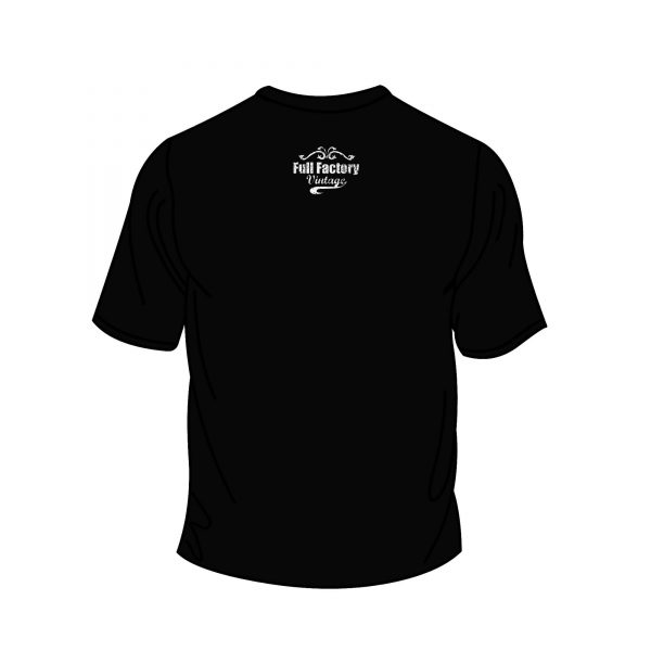 Full Factory Vintage - Black Tshirt Back