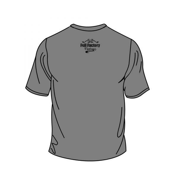 Full Factory Vintage - Grey Tshirt Back